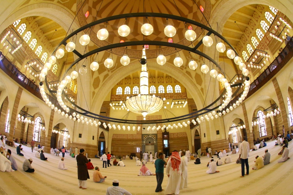 #RamadanLens Day 28: The massive Al Fatteh Mosque in Bahrain