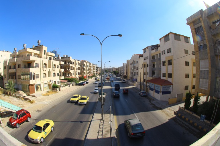 Fisheye Amman