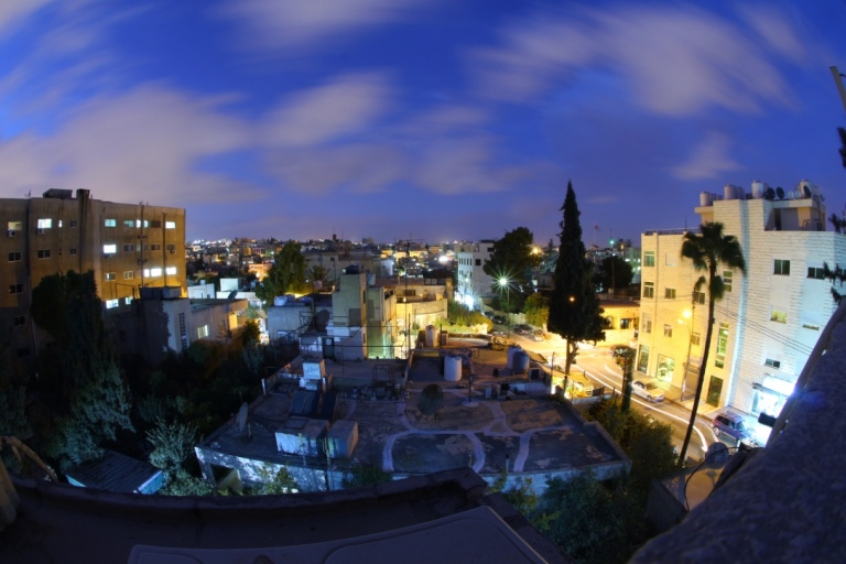 Fisheye Shot of Amman